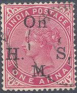 Stamp   India   Queen Victoria Used Lot#41 - India (...-1947)