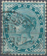 Stamp   India   Queen Victoria Used Lot#46 - 1852 Sind Province