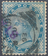Stamp   India   Queen Victoria Used Lot#48 - India (...-1947)