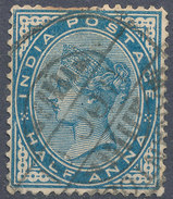 Stamp   India   Queen Victoria Used Lot#49 - 1852 Sind Province