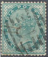 Stamp   India   Queen Victoria Used Lot#51 - India (...-1947)