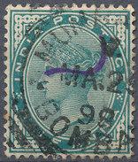 Stamp   India   Queen Victoria Used Lot#52 - India (...-1947)