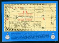 1981 - ISOLE SOLOMON. -  Catg.. Mi. BL 8 - NH - (UP554641.85.23) - Isole Salomone (1978-...)