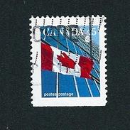 N° 1416b  Drapeau Canadien  TIMBRE Stamp Canada (1996) Oblitéré
