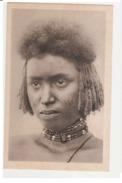 ERITREA - TYPE OF BENIAMER - GIRL WITH TATOO ON THE FACE - 1920s ( 648 ) - Eritrea
