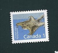 N° 1064 Ecureuil Volant  TIMBRE Stamp Canada (1988) Oblitéré