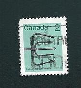 N° 819 Canada - Foëne  TIMBRE Stamp Canada (1982) Oblitéré
