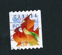 N° 2043 Feuille D'érable Et Samare TIMBRE Stamp Canada (2003) Oblitéré