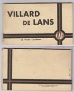 CPA VILLARD De LANS . 38. Carnet De 12 Cartes Artistiques - Villard-de-Lans