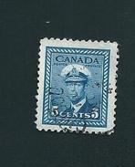 N° 211 Georges VI  TIMBRE Stamp Canada (1967) Oblitéré