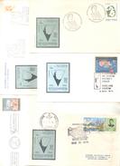 ANTARTIDE ANTARTIDA ANTARTICS 20 SOBRES Y TARJETAS ENVELOPES AND CARDS  ENVELOPPES DIFFERENTES BON ETAT DIFERENTES - Postzegels