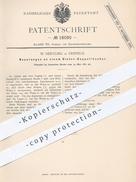 Original Patent - W. Oertling , Krefeld , 1881 , Tintenlöscher | Tinte , Walze , Löschwalze , Schreibmaterial , Papier ! - Historische Dokumente