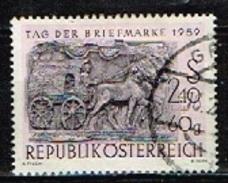 AUTRICHE /Oblitérés/Used/1959 - Journée Du Timbre - 1945-60 Usati