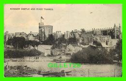 HAMPTON-ON THAMES, UK  - WINDSOR CASTLE & RIVER THAMES - ANIMATED - THE AUTO-PHOTO SERIES -