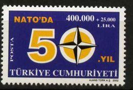 Turkey, 2002, NATO Membership, MNH