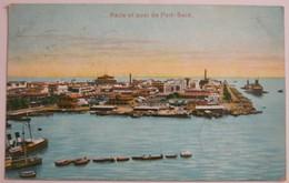 EGYPTE - Rade Et Le Quai De Port-said - 1912
