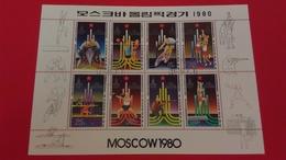 JEUX OLYMPIQUES MOSCOU - Corée Du Nord 1979 Bloc N°?? - Oblitérés