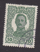 Austria, Scott #MB1, Used, Emperor Karl I And Empress Zita Military Stamps, Issued 1918 - Austria