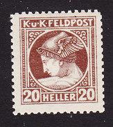 Austria, Scott #MP4, Mint Hinged, Mercury Military Newspaper Stamps, Issued 1916 - Austria