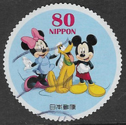 Japan 2012 Mickey Mouse And Friends 80y Type 9 Good/fine Used [33/28445/ND] - Oblitérés