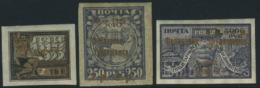 Russia 1923 Overprints 3v, (Unused (hinged)), Transport - Ships & Boats