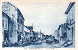 57 - Moselle - Avricourt  - Rue Des Halles - France