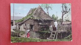 > Philippines Manila Native Homes  Has Stamp & Cancel   = Ref --2488 - Philippines