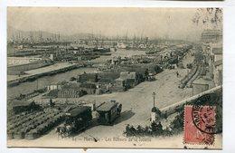 CPA  13  : MARSEILLE Le Port Bassin De La Joliette   A    VOIR  !!! - Old Port, Saint Victor, Le Panier