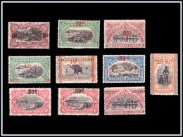 Congo 0095/103 SG  Surchargés SANS GOMME -