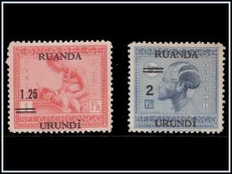 Ruanda 0090/91 SG Vloors  Sans Gomme ! - - Ruanda-Urundi