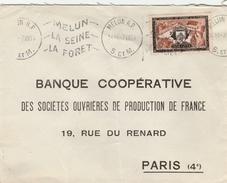 Sur Lettre Yvert  987  300ème Anniversaire Rattachement De Stenay à La France-  Belle Oblitération Krag De Melun S.et M. - Marcofilia (sobres)