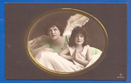Kind Mit Engel; Enfant; Mädchen; Child; Girl; Fille; 1914 Serie 4554/6 - Anges