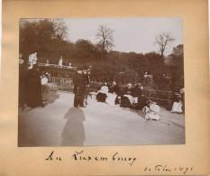 G43 - Photographie - 75 - PARIS - Au Jardin Du Luxembourg - Octobre 1891 - Photographs