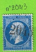 OBLIT GC N°2043 LIGNY-LE-CHATEL - YONNE - Marcophilie (Timbres Détachés)