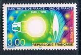 France 1996 Yt N°2996 MNH ** L'industrie De L'électricité Et Du Gaz - France