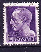 Italien Italy Italie - Imperiale Cäsar (MiNr: 633 Y) 1942 - Gest Used Obl - 1900-44 Vittorio Emanuele III