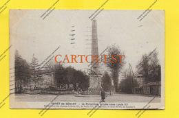 CPA 91 Forêt De SENART La Pyramide Route De Paris à Melun 1936 ( Prix Net ! ) ( Dos Superbe Oblitération ) - Sénart