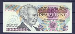 Poland  - 1992 - 2 000 000  Zlotych.....P158b.. UNC.. - Poland