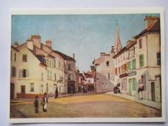Alfred SISLEY - Place D'Argenteuil  -   Collection Cartes Postales De La Loterie Nationale - - Argenteuil