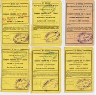 ALGERIE // LOT De TICKETS De Transport Ferroviaire - Monde