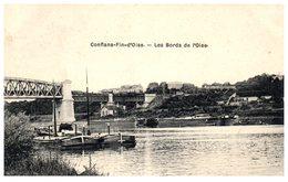 78 - CONFLANS FIN D'OISE -- Les Bords De L'Oise - France