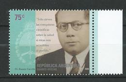 Argentina 2006 The 100th Ann.of The Birth Of Doctor Ramon Carillo. Argentine Neurosurgeon, Neurobiologist, Physician,MNH - Neufs