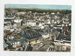 G-I-E , Cp , 59, En Avion Au Dessus De ... LILLE , La Place Du Théâtre Et La Bourse ,ed : Lapie , Voyagée - Lille