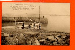 50 Saint Vaast La Hougue : Le Port De L'Ile - Le Robinson - Saint Vaast La Hougue