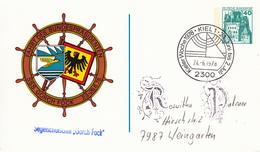 NPP 100/72 Fahrt Des Bundespräsidenten SSS Gorch Fock 1978, Kiel 1 - Privatpostkarten - Gebraucht