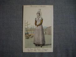 NORMANDES D'AUTREFOIS  - CAEN  -  ST AUBIN  -  LANGRUNE  -  LUC SUR MER  -  Edition La Cigogne    Costumes  -  Coiffes - Haute-Normandie
