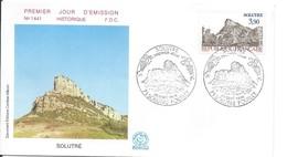 Enveloppe Premier Jour D'émission/Solutré/Solutré-Pouilly/Saône Et Loire/1985     PJE67 - Francobolli