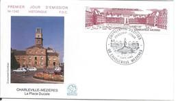 Enveloppe Premier Jour D'émission/La Place Ducale /CHARLEVILLE-MEZIERES/Ardennes/1983     PJE68 - Timbres