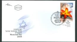 Israel FDC - 2008, Philex Nr. 1973,  Mint Condition