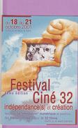 CC °_ Spectacle - 32 Auch - Festival Ciné 32 Année 2001 - Sonstige